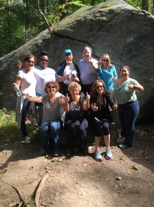 Carr Workplaces Monthly Walk Group Led By Karen Bloom on September 25, 2015