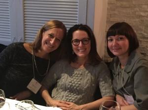 Rita Moser, Beth Caunitz, Vlada Nedak